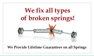 We Fix All Types Broken Springs